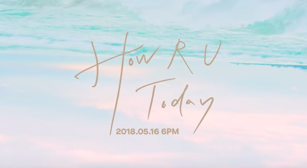 N.Flying asks How R U today? in new teaser.