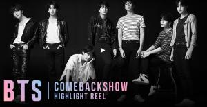 Tune into BTS comeback show!